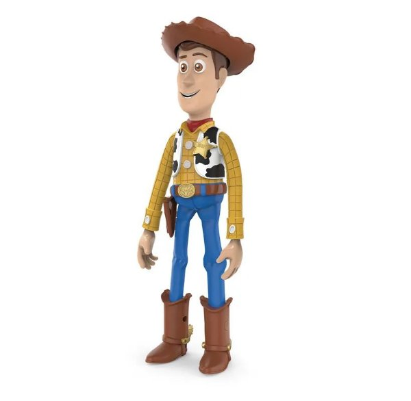 Figura Articulada Woody - 30 Cm - Toy Story 4 - Toyng