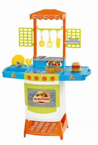 Cozinha Infantil Master Burguers Magic Toys