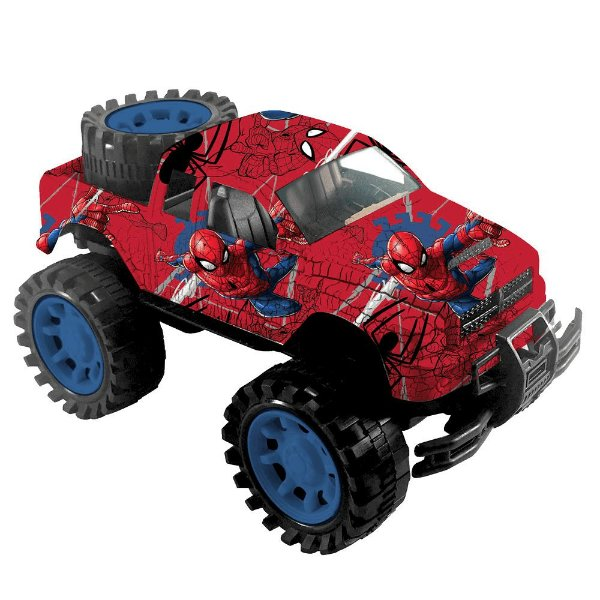 Carro de Fricção Disney Marvel - Homem Aranha