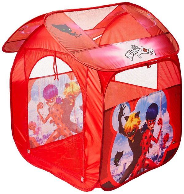Barraca Portátil Casa Ladybug - Zippy Toys