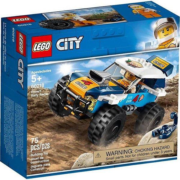 Lego City - Carro De Corrida Rali No Deserto