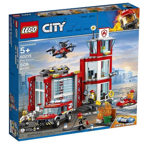 LEGO City - Quartel General dos Bombeiros