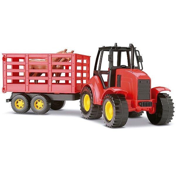 Silmar Brinquedos Trator De Brinquedos Agromak Haras