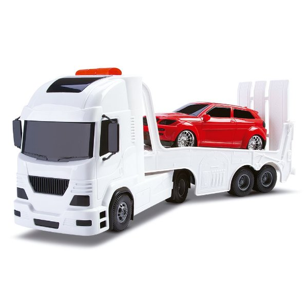 Caminhão Guincho e Carrinho Acton C/ Fricção
