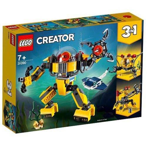 Lego Creator Robo Subaquatico 3 Em 1