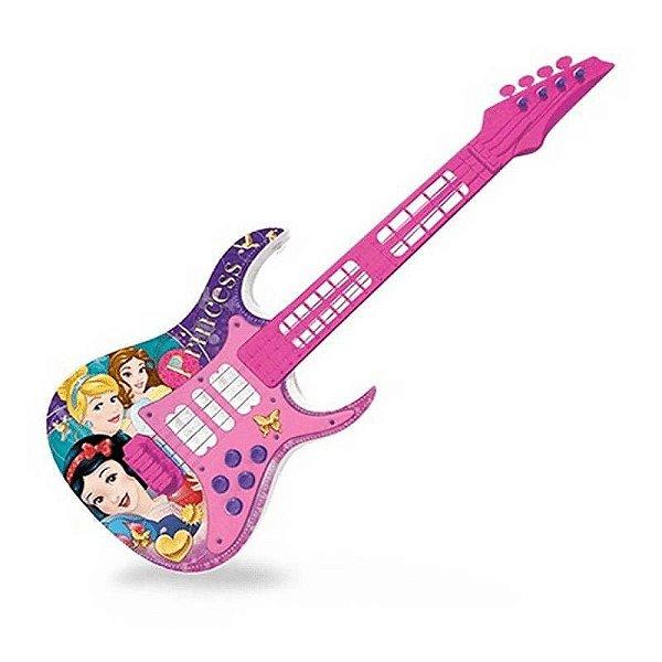 Toyng Guitarra Musical Com Luz Princesas