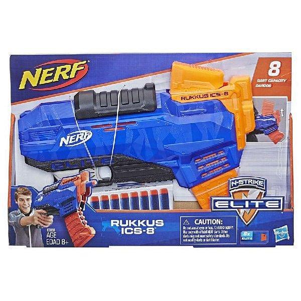 Lança Dardos - Nerf - Elite Rukkus ICS 8 - Hasbro