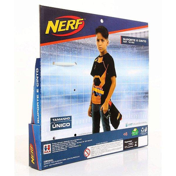 Conjunto - Cinto e Suporte para Dardos - Nerf