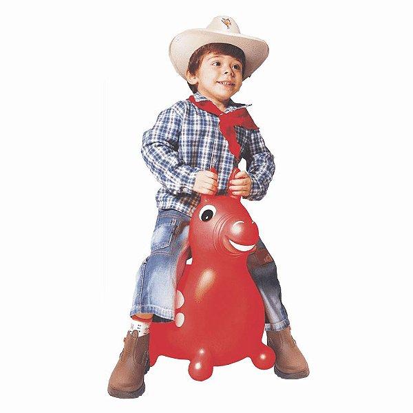 Líder Brinquedos Cavalinho Upa Upa Do Gugu - Vermelho