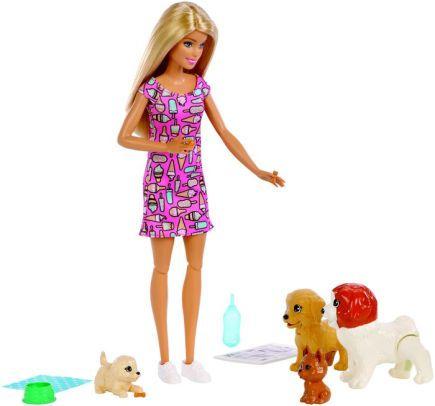 Barbie - Treinadora de Cachorrinhos - Mattel