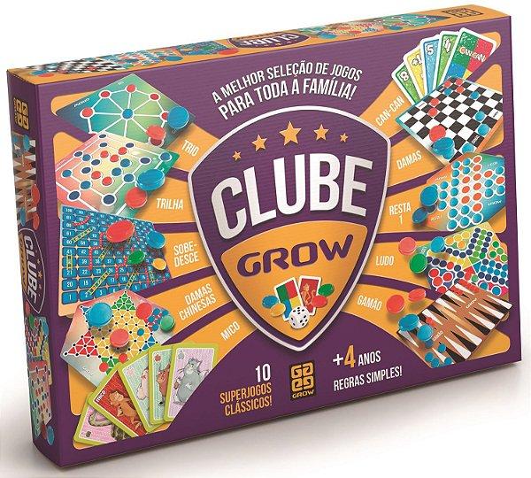 Clube Grow 10 jogos clássicos Grow