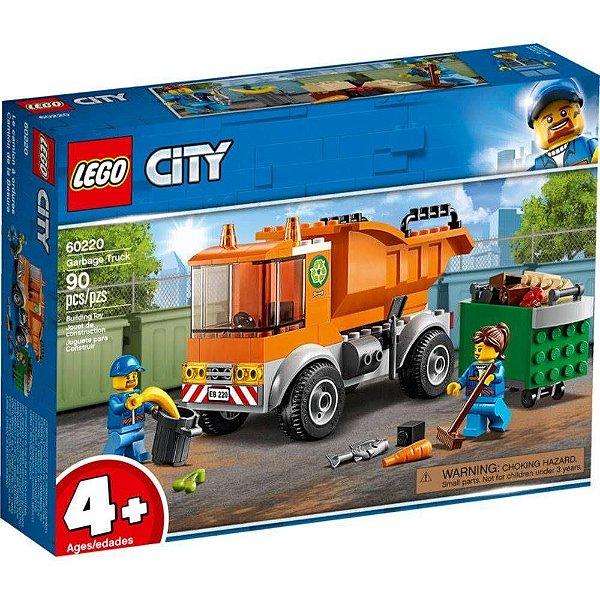 Lego City Caminhão De Lixo 90 Peças