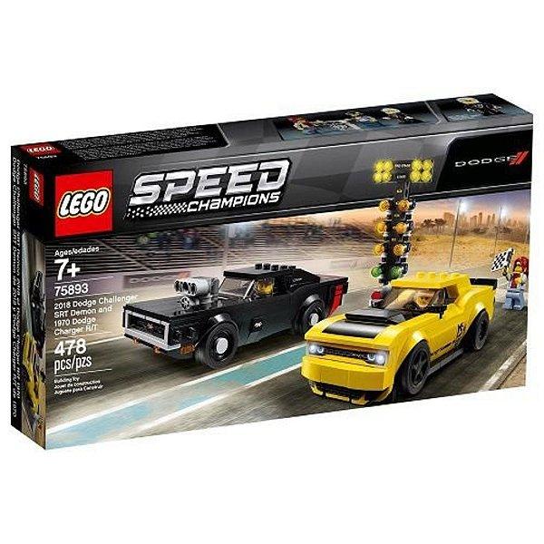 Lego Speed Champions 2018 Dodge Challenger