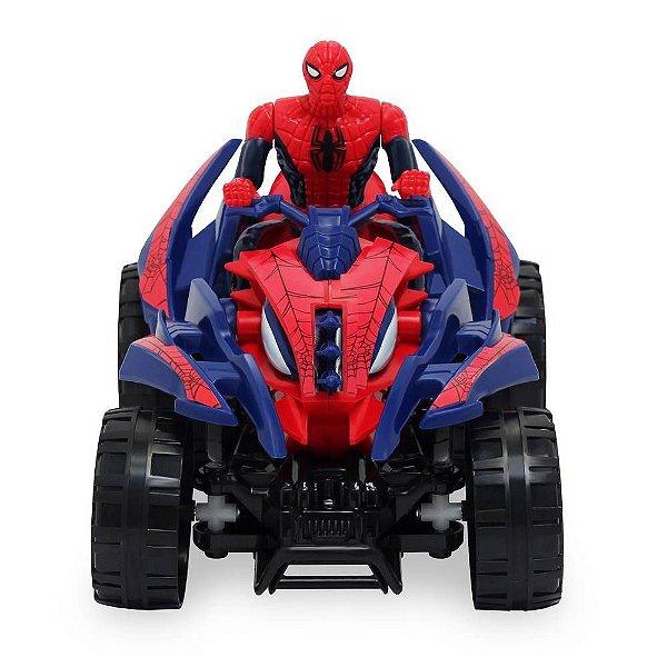 Toyng Quadriciclo de Fricção Homem Aranha
