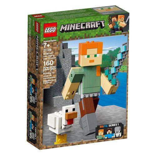 Lego Minecraft 21149 Bigfig Alex Com Galinha