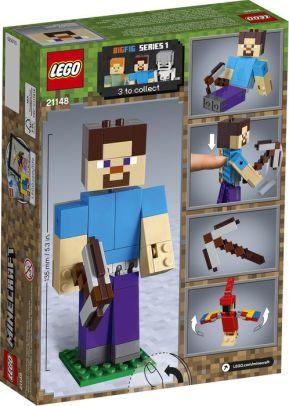 LEGO Minecraft - Steve Gigante e Papagaio - 21148