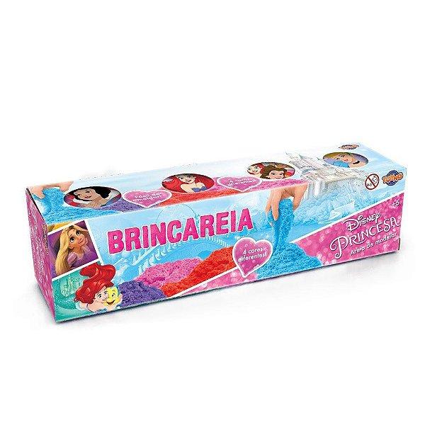 Conjunto Areia de Modelar - Princesas Disney