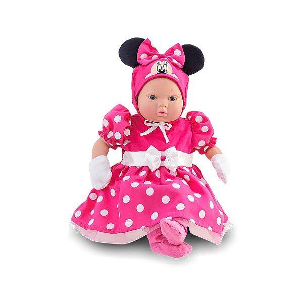 Boneca Minnie Mouse Classic Doll Recém-nascido - Roma