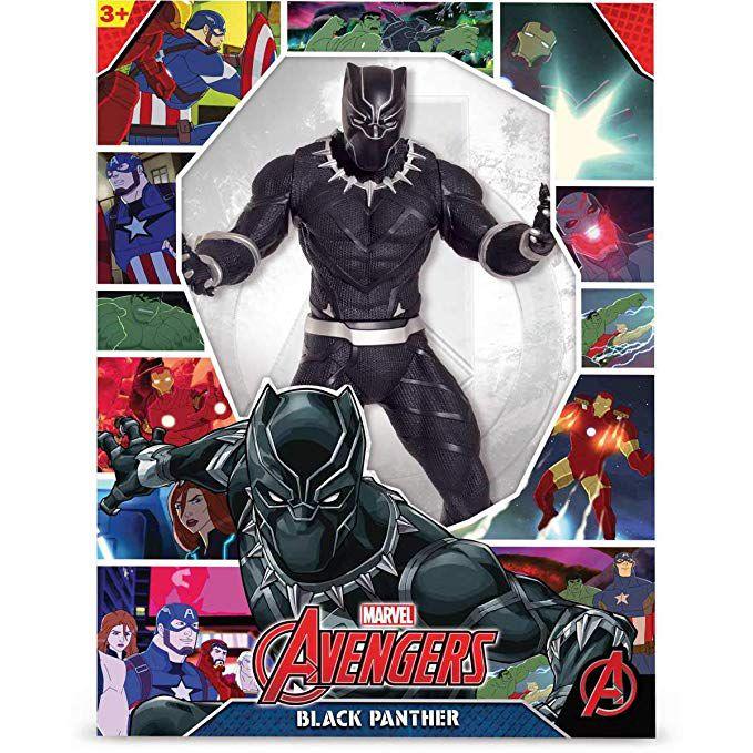 Boneco Avengers Pantera Negra Black  - Mimo
