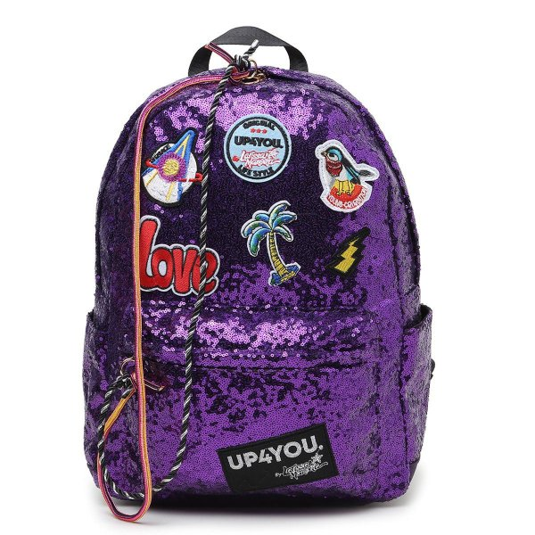 Mochila Up4You Básica Love - Roxo