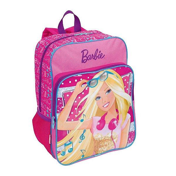 Mochila Escolar Infantil G Sestini de Costas Barbie 16M Plus - Rosa