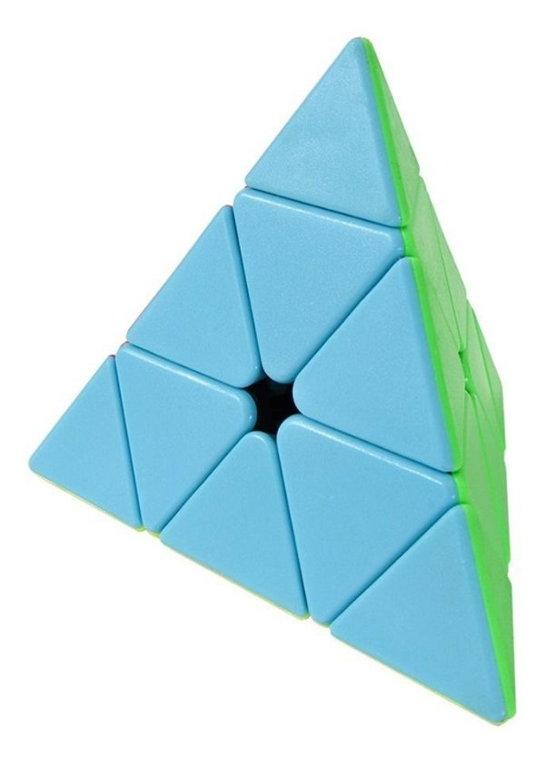 Cubo Magico 3x3 Triângulo Pyraminx Pirâmide Stickerless 8808
