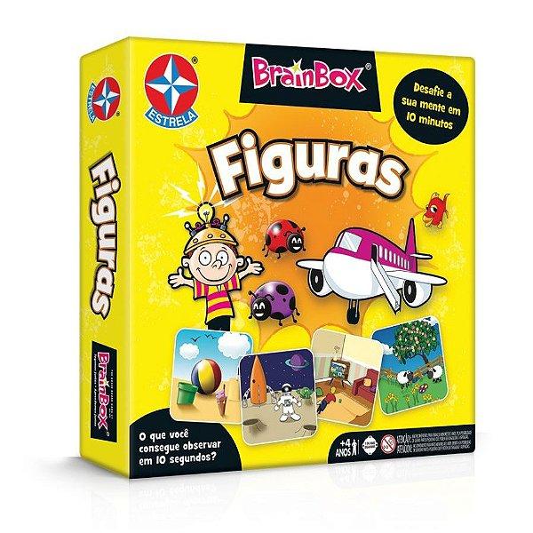 Jogo Brainbox Figuras Brinquedos Estrela