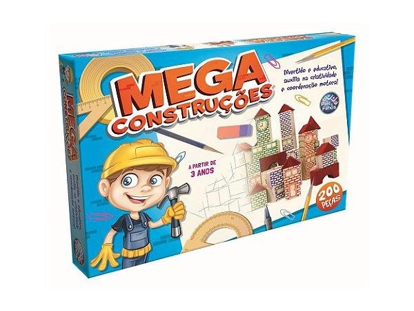 Mega Construções 200 Peças - Pais & Filhos