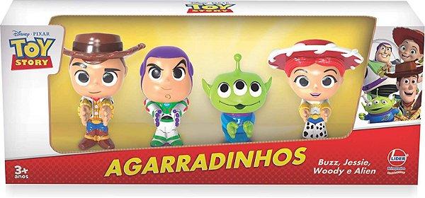 Conjunto de Bonecos - Disney - Toy Story - 4 Personagens - Líder