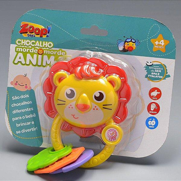 Chocalho Morde Morde Animal Zoop Toys