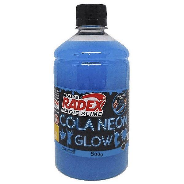 Cola Glow Slime Neon Radex