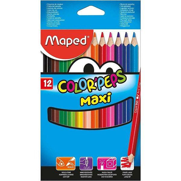 Lapis de COR Jumbao Color PEPS Maxi 12CORES