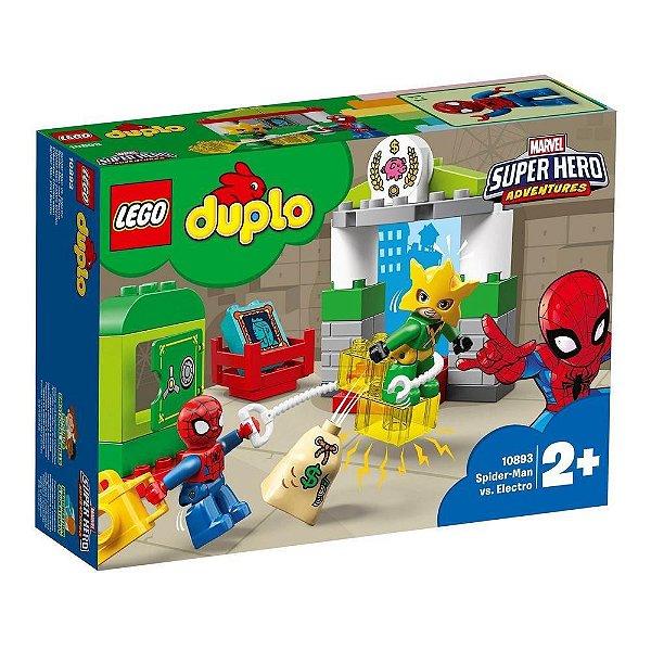 Lego Duplo Super Hero Adventures Spider Man vs Electro
