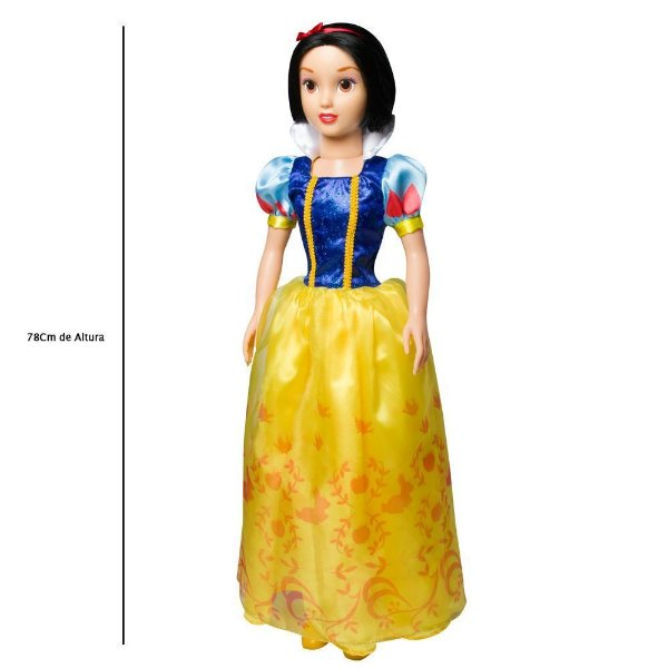 Boneca Princesa Disney Branca De Neve - Novabrink
