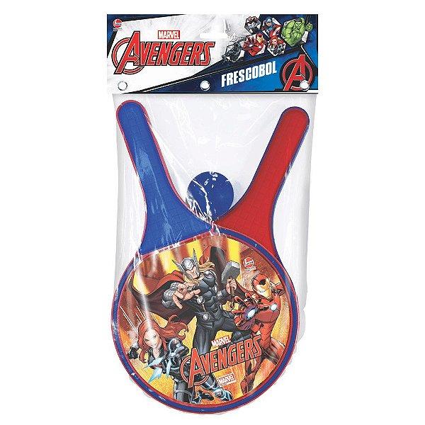 Frescobol Avengers - Líder Brinquedos