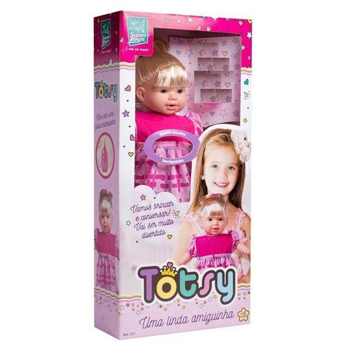 Boneca Totsy Uma Linda Amiguinha Super Toys
