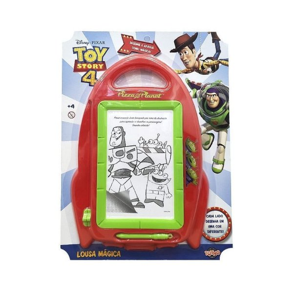 Lousa Mágica Toy Story 4 - Aliens - Toyng