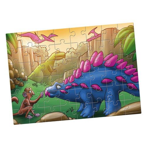 Quebra-Cabeça Grandão Estrela Dinossauros – 48 Peças