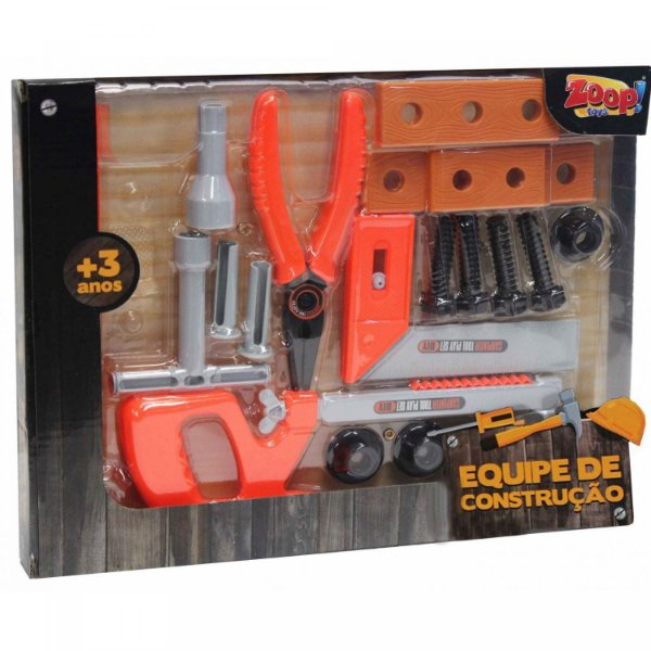 Zoops Toys Ferramentas De Construção