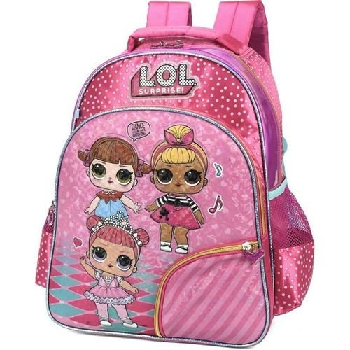 Mochila Luxcel Lol Surprise Glam Pink