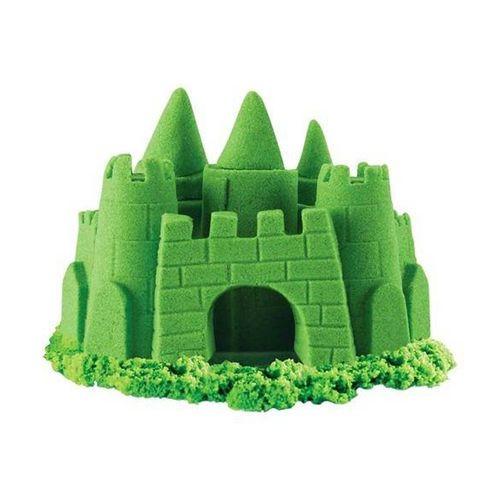 Areia De Modelar 227 G Cores Neon Verde 1801 Sunny