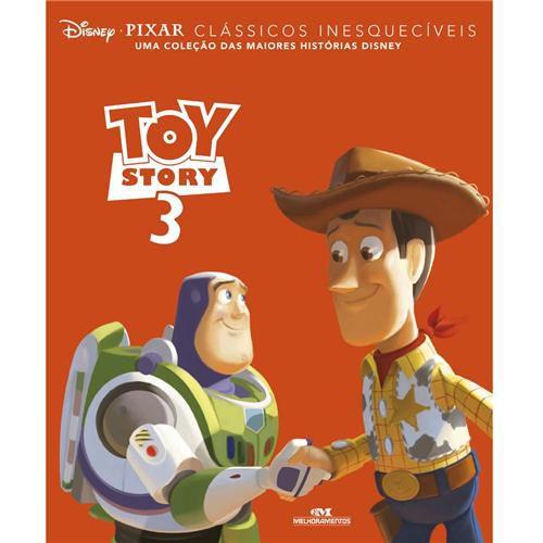 Livro - Clássicos Inesquecíveis: Toy Story 3