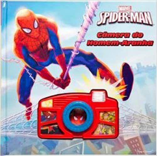 Livro - Câmera do Homem Aranha