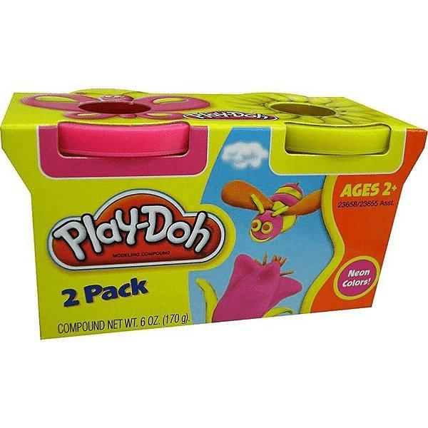 Massinha De Modelar Play-doh Pote Com 2 Cores 23655 - Hasbro