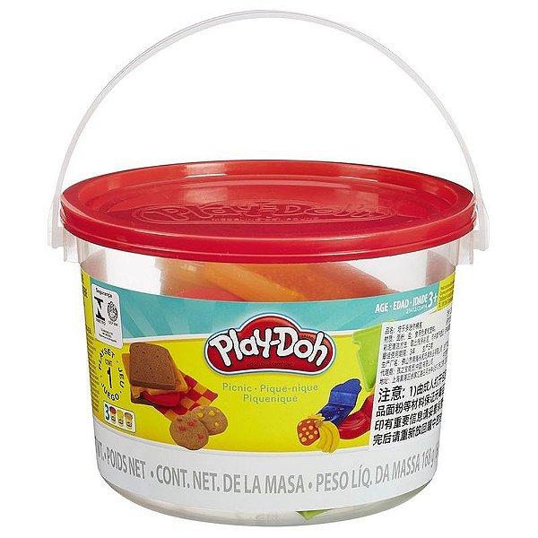 Massinha Play Doh Mini Balde Picnic Hasbro