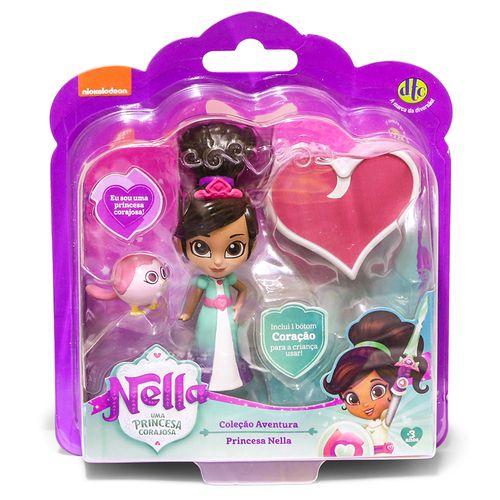 Boneca Princesa Nella Uma Princesa Corajosa- 4687