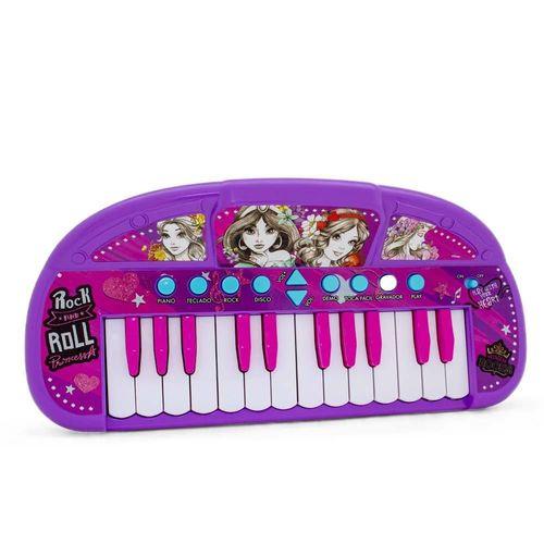 Teclado Musical Infantil - Princesas - Disney - Toyng