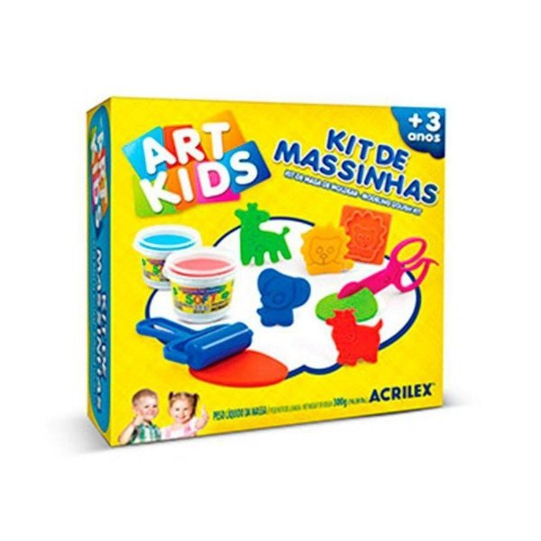 Kit massinhas 300g - Art Kids - Acrilex