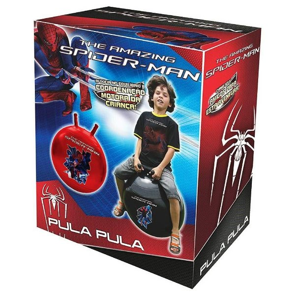 Pula Pula The Amazing Spider-Man - Vermelho - Lider - Disney