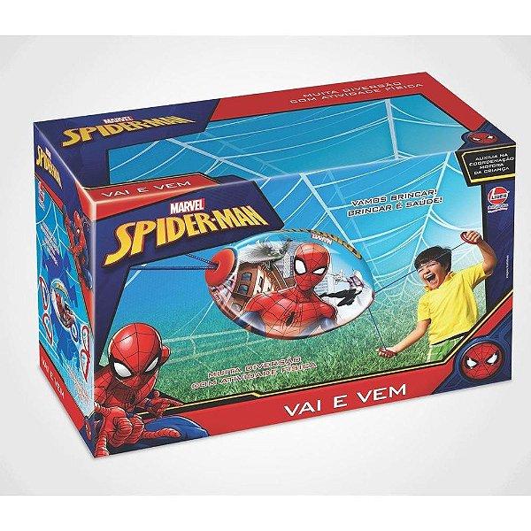 Brinquedo Vai e Vem Spiderman Líder Home
